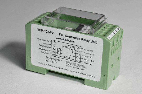 TCR-102 DIN Rail TTL Relay